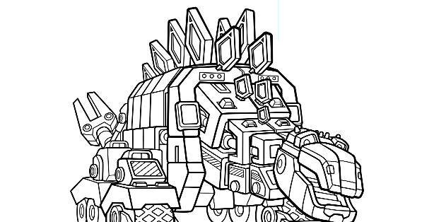 Dinotrux coloring pages printable