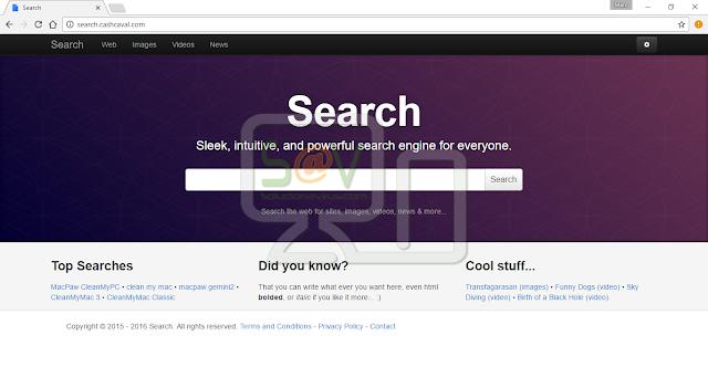 Search.cashcaval.com (Hijacker)