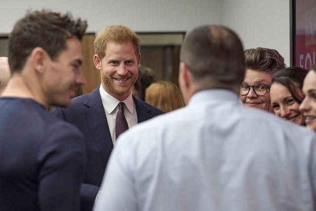 Wizyta księcia Harry'ego w Birmingham