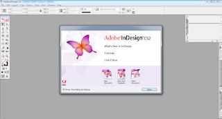 Screenshot 1: Adobe InDesign CS2