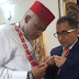 BIAFRA: TURKISH DIPLOMAT VISITS NNAMDI KANU [SEE PHOTOS]