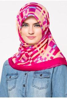 Model Jilbab Zoya Terbaru Segi Empat