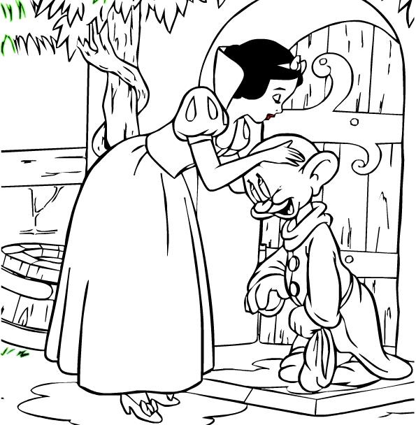 tranh tô màu công chúa Disney 20