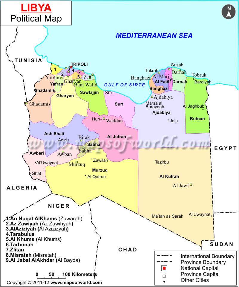 Storia della Libia - Wikipedia   Libia
