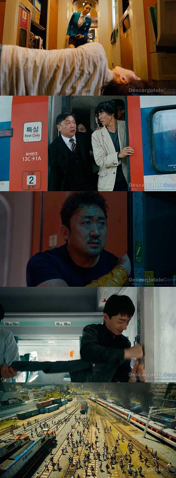 Estación Zombie Tren a Busan (2016) HD 1080p Español Latino