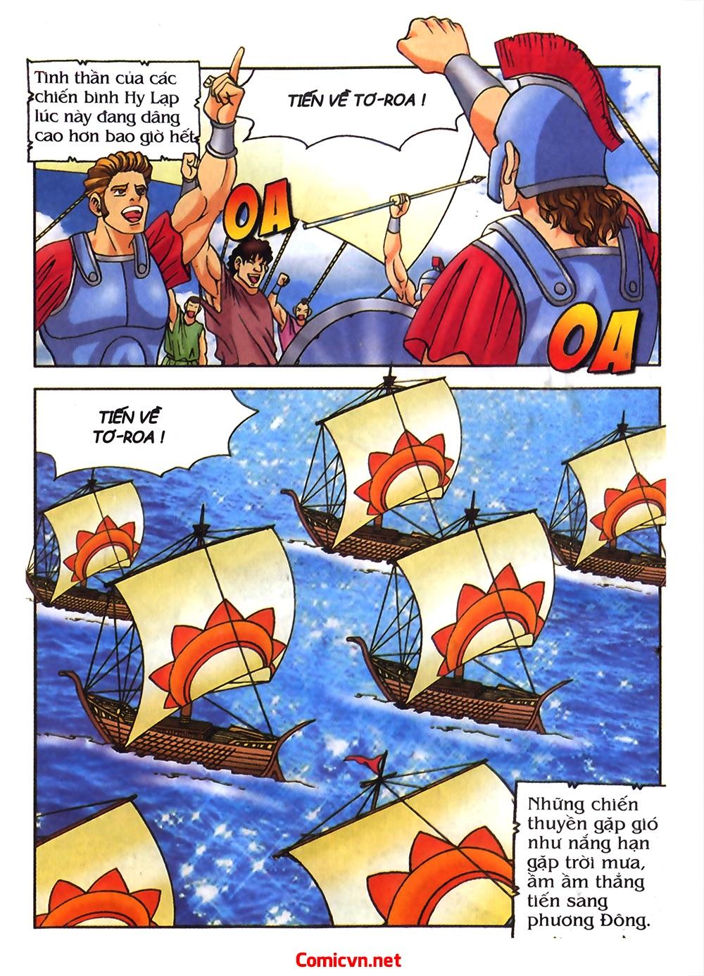 Thần Thoại Hy Lạp Màu - Chapter 54: Tiến về thành Troy - Pic 6