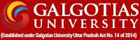 Direct Admission in Galgotias University 2019
