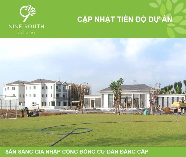 Tiến độ dự án Nine South Estates đầu tháng 3 năm 2016
