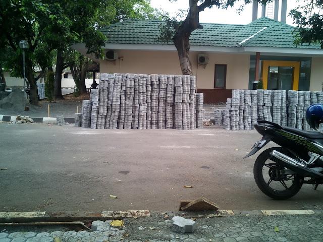 paving block model segitiga