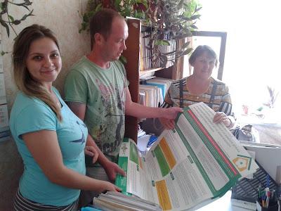 Команда Каховського ЦВЮП спілкується з клієнтами