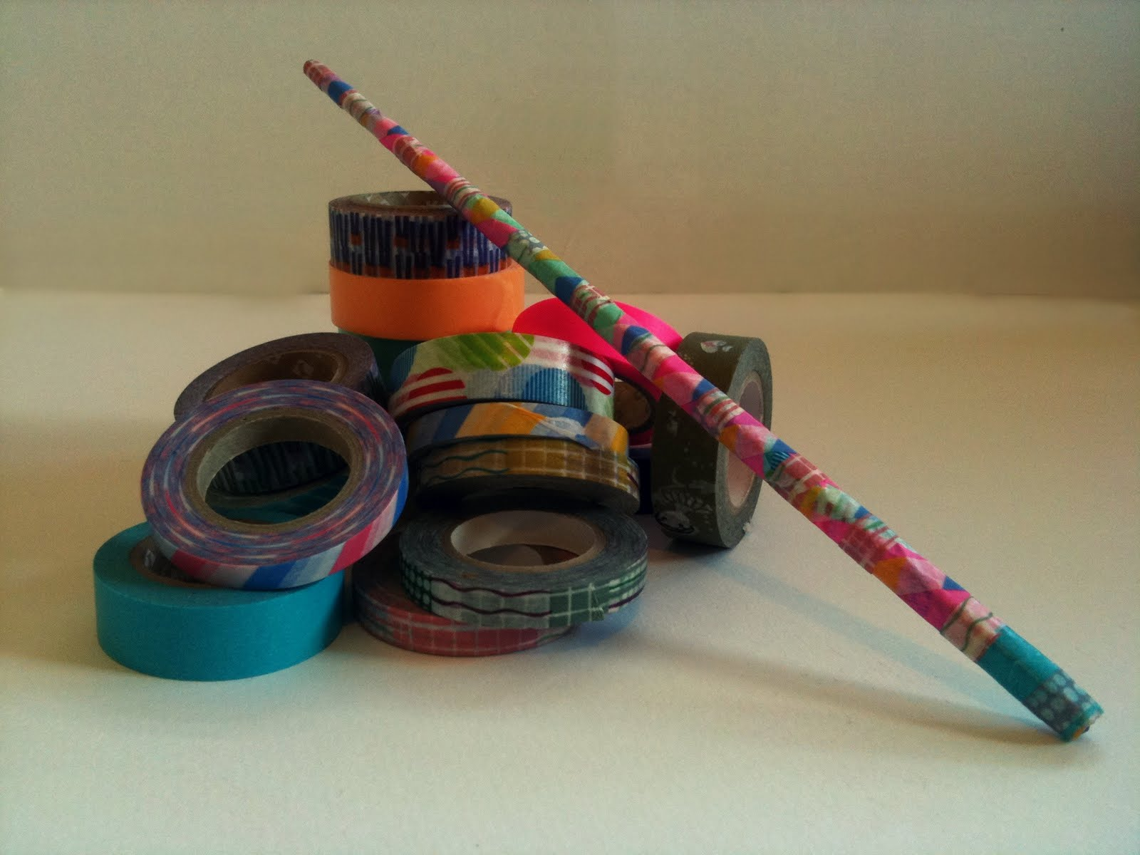 fortune favours washi tape wizard wand. Black Bedroom Furniture Sets. Home Design Ideas