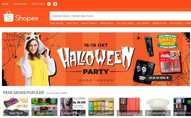 Promo Shopee Terbaru Muda Mudi dan Halloween -Shopee.co.id