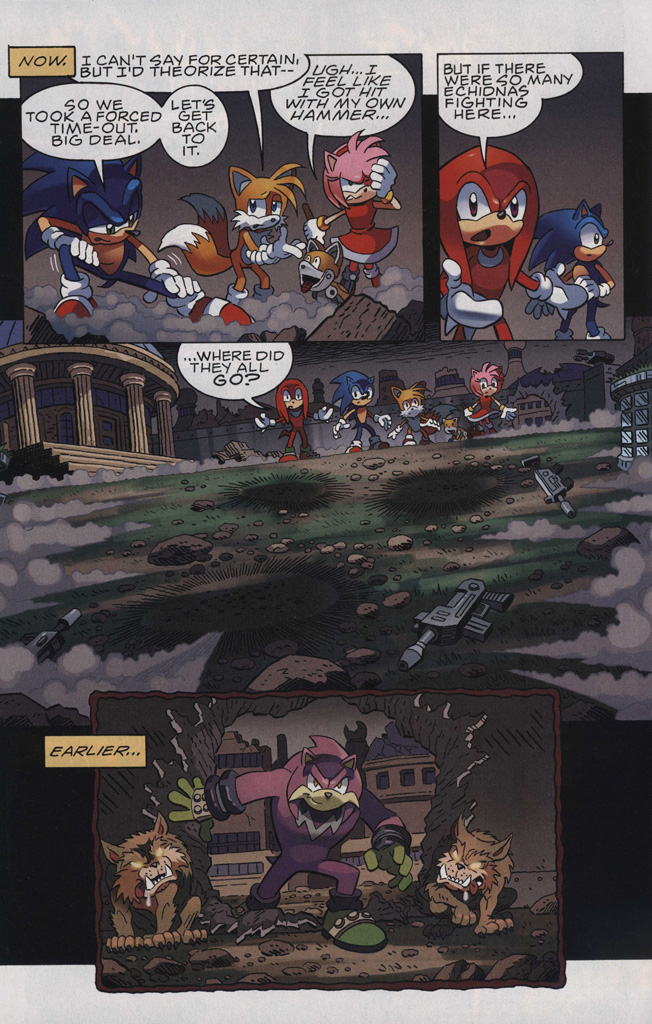 Read online Sonic The Hedgehog comic -  Issue #244 - 16