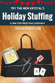 Krystal Holiday Stuffing and Giveaway