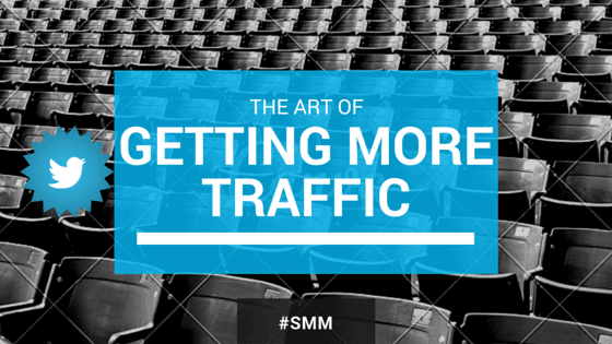 how to drive traffic to website from twitter