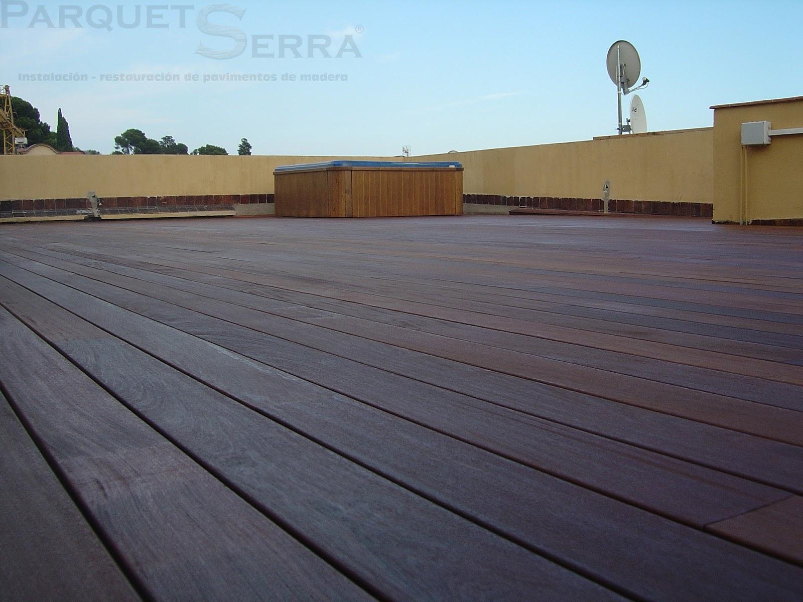 Colocar tarima exterior revestir suelo de terraza trabajo for Tarima exterior ikea
