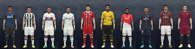 PES 2016 Kits Update by Mackubex Season 2017/2018