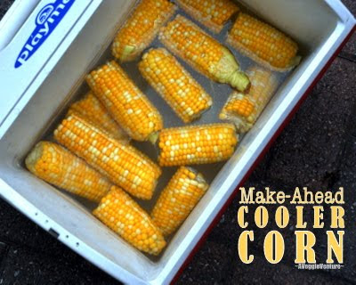 Cooler Corn: How to Cook Corn in a Beer Cooler (or use same great technique on the stove!) ♥ AVeggieVenture.com
