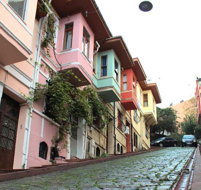 merdivenli yokuş - balat sokakları - balat - unesco