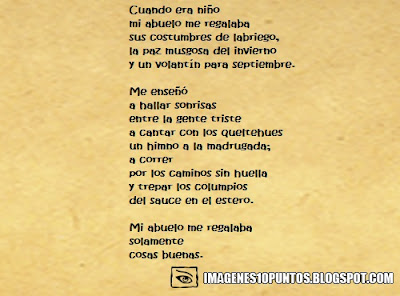 poemas para abuelos