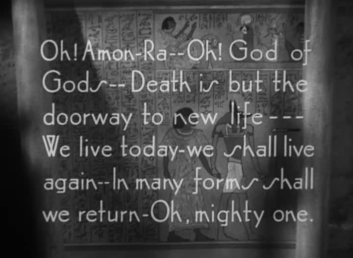 Global Wahrman: The Opening of The Mummy (1932)