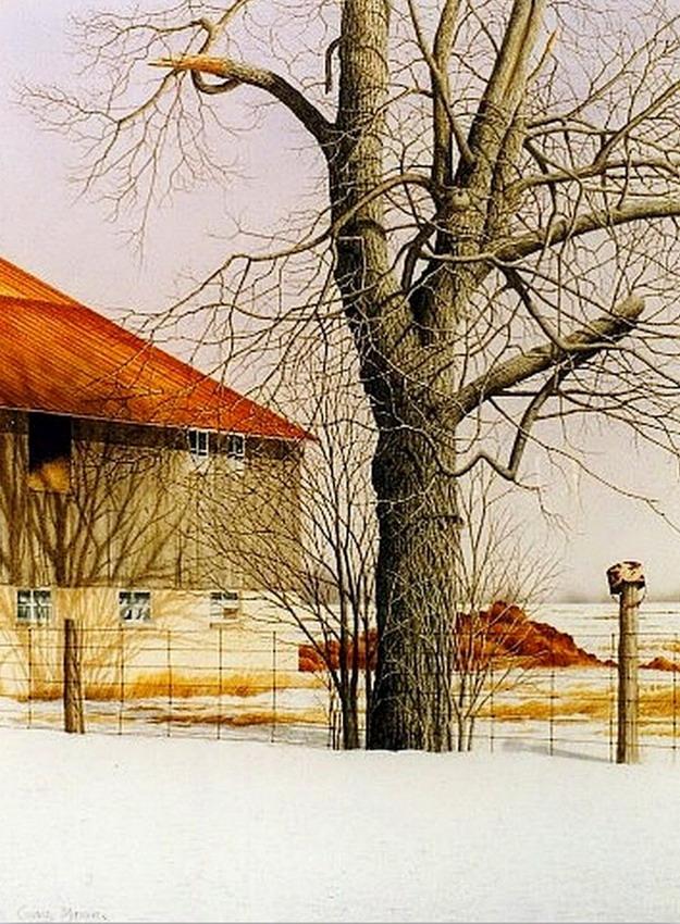 Im genes arte pinturas vistas de casas de campo en paisajes - Cuadros de casas de campo ...