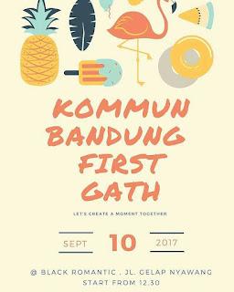 First Gathering KOMMUN Bandung