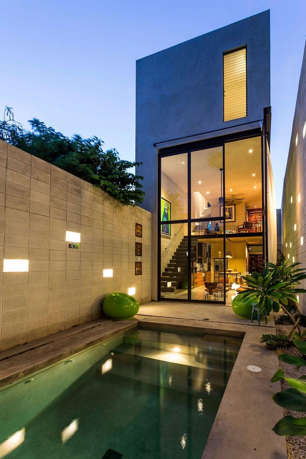 Uma moderna casa mexicana design innova for Arquitectura mexicana moderna