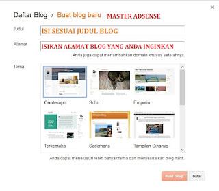 Bagaimana Cara Mudah Membuat Blog Untuk Pemula