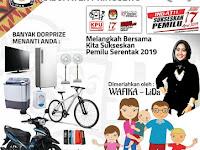 Info Lomba dan Event Jalan Sehat Pemilu Run 2019 Kab Pringsewu