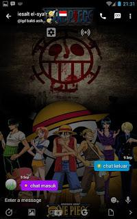 BBM MOD One Piece V3.0.1.25 Apk Terbaru