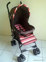2 Kereta Bayi BabyDoes CH150 Hill