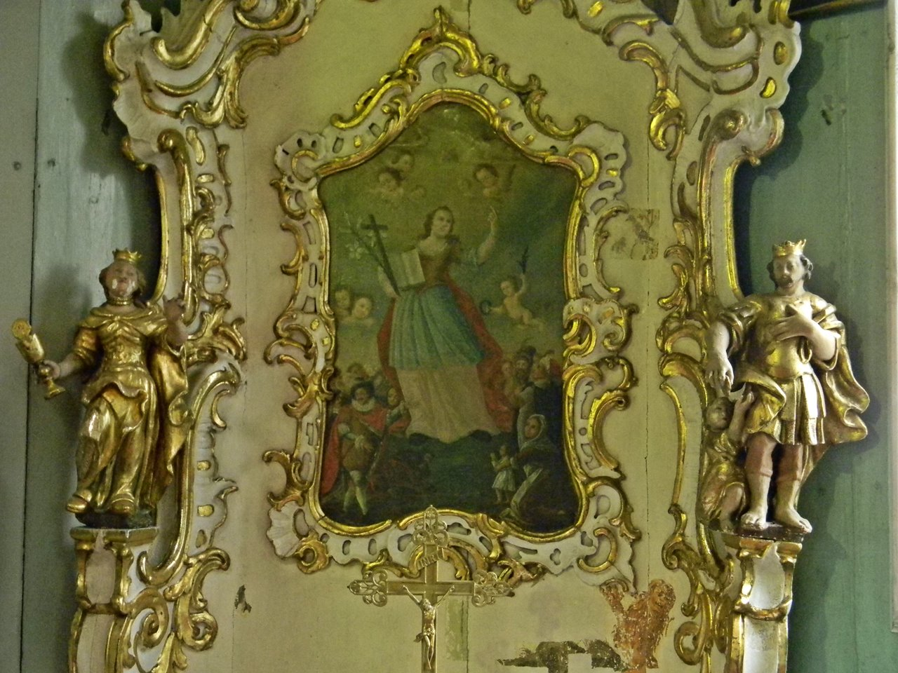 rzeźby, obrazy, złocenia