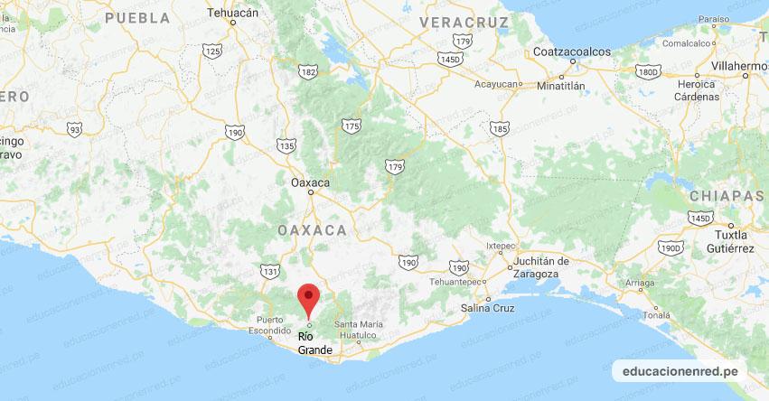 Temblor en México de Magnitud 4.3 (Hoy Jueves 22 Agosto 2019) Sismo - Epicentro - Río Grande - Oaxaca - OAX. - SSN - www.ssn.unam.mx