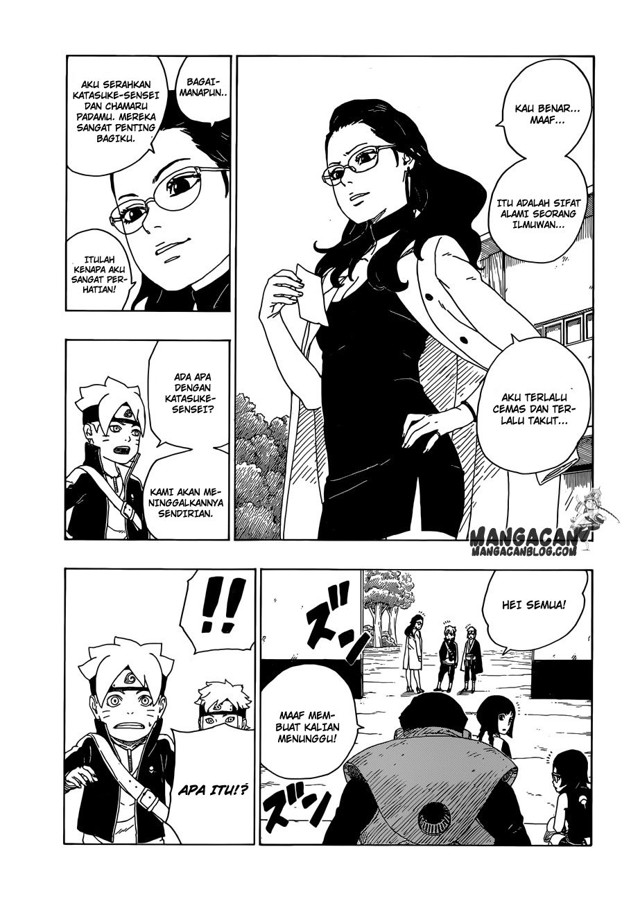 Boruto : Naruto Next Generation Chapter 19