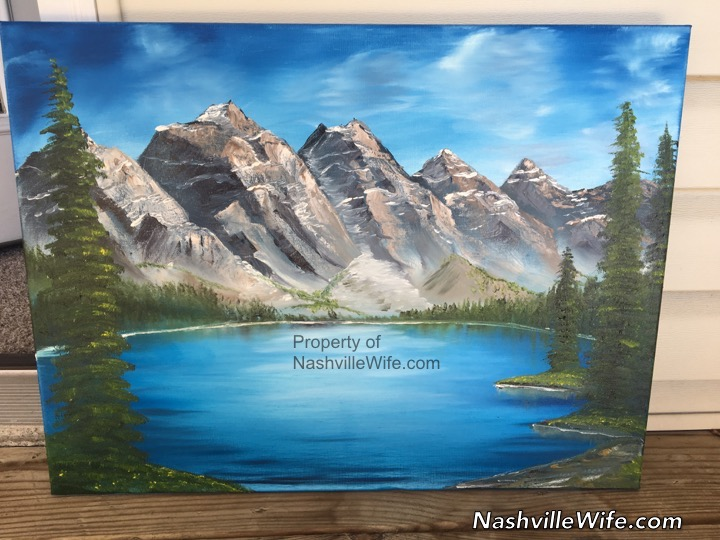 Rocky Mountains Paintings