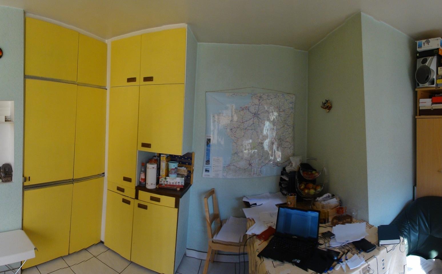Cuisine Integree Dans Salon appart à 100m de la petite france + grand balcon: salon