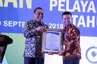 Kabupaten Trenggalek Raih Penghargaan Top 99 Inovasi Pelayanan Publik 2018