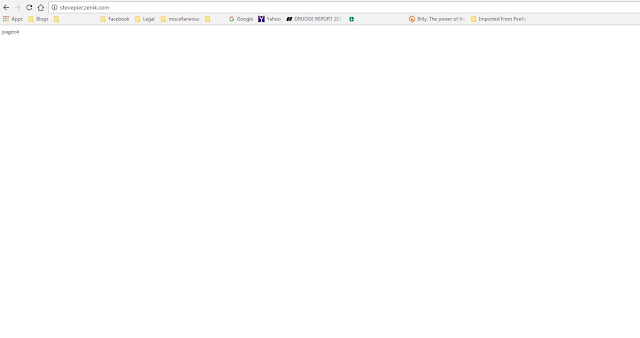 Missing website
