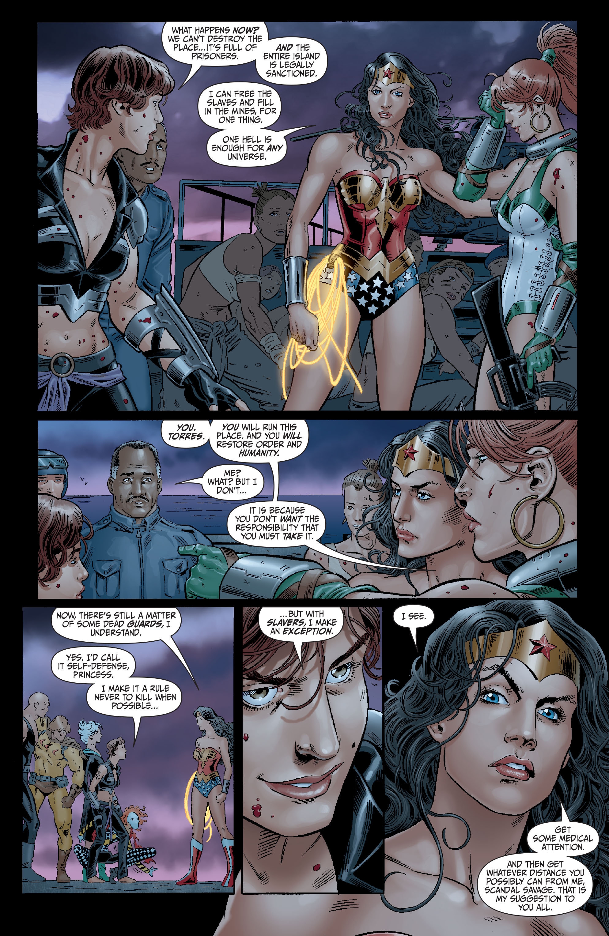 Read online Secret Six (2008) comic -  Issue #14 - 21