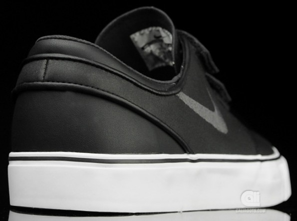 fc711e1e35f5 The design is set in black leather and sits atop a classic white midsole.  They will be available at accounts beginning July 23rd.