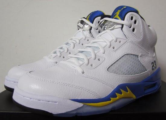 New Style Nike Air Jordan 5 Retro Laney White Varsity Maize-Vars