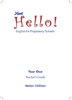 New Hello - English For Preparatory Schools - Year One - Teacher's Guide
