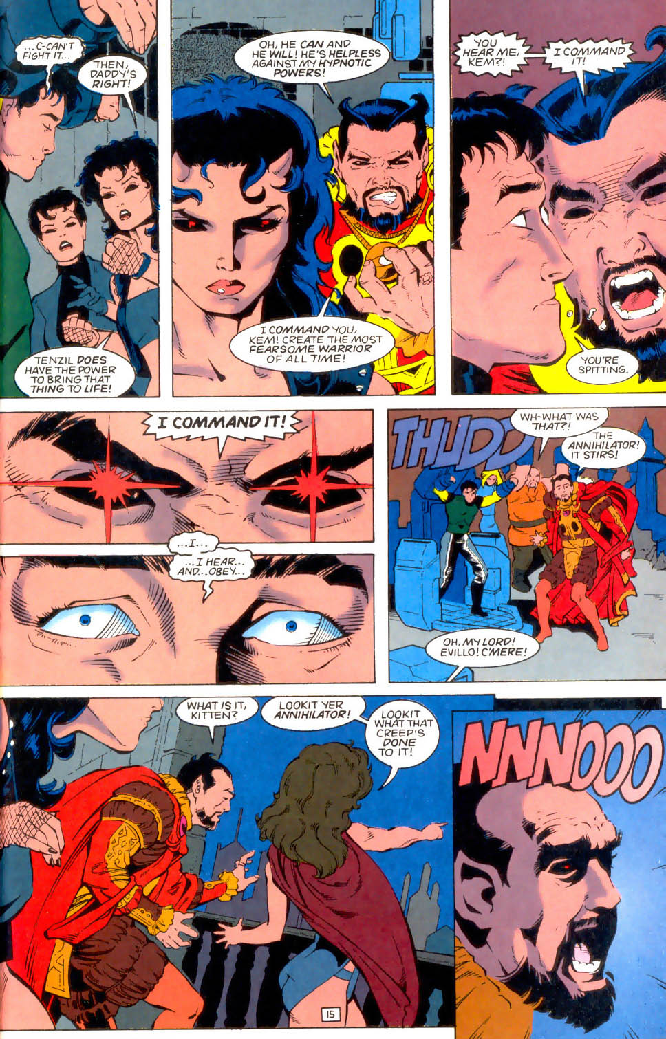 Legion of Super-Heroes (1989) 49 Page 15