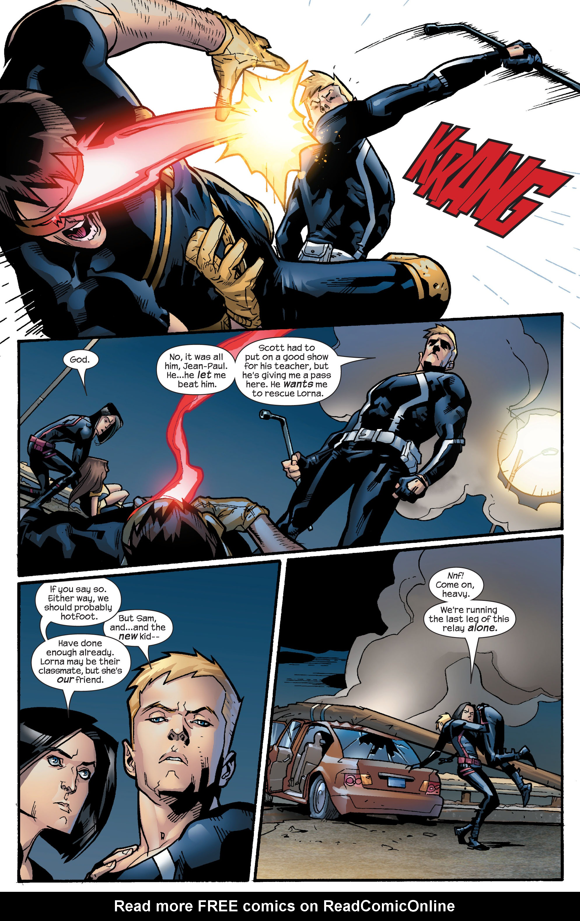 Read online Ultimate X-Men comic -  Issue #63 - 19
