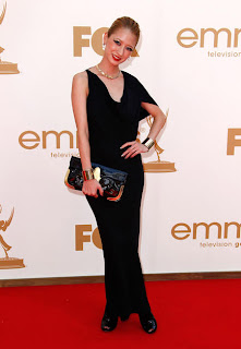 Vanessa Lengies (Not loving the make-up or shoes, but the dress and jewelry are killer!)
