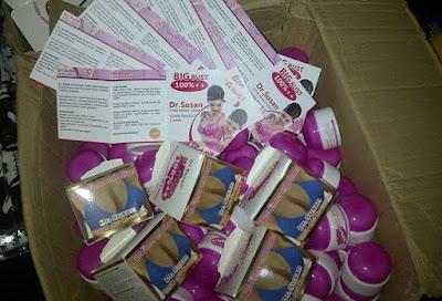 Kemasan Terbaru Cream Dr.Susan Hologram Original dan Brosur Produk Pemakain