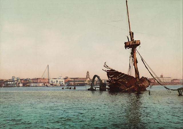 Cảng Havana, Cuba 1896