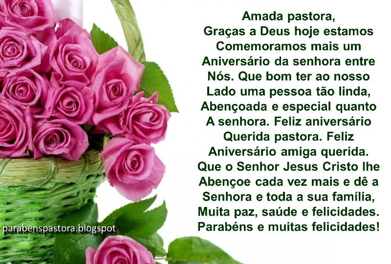 Mensagem De Aniversario Evangelica: Mensagem De Aniversário Para Pastora Evangélica