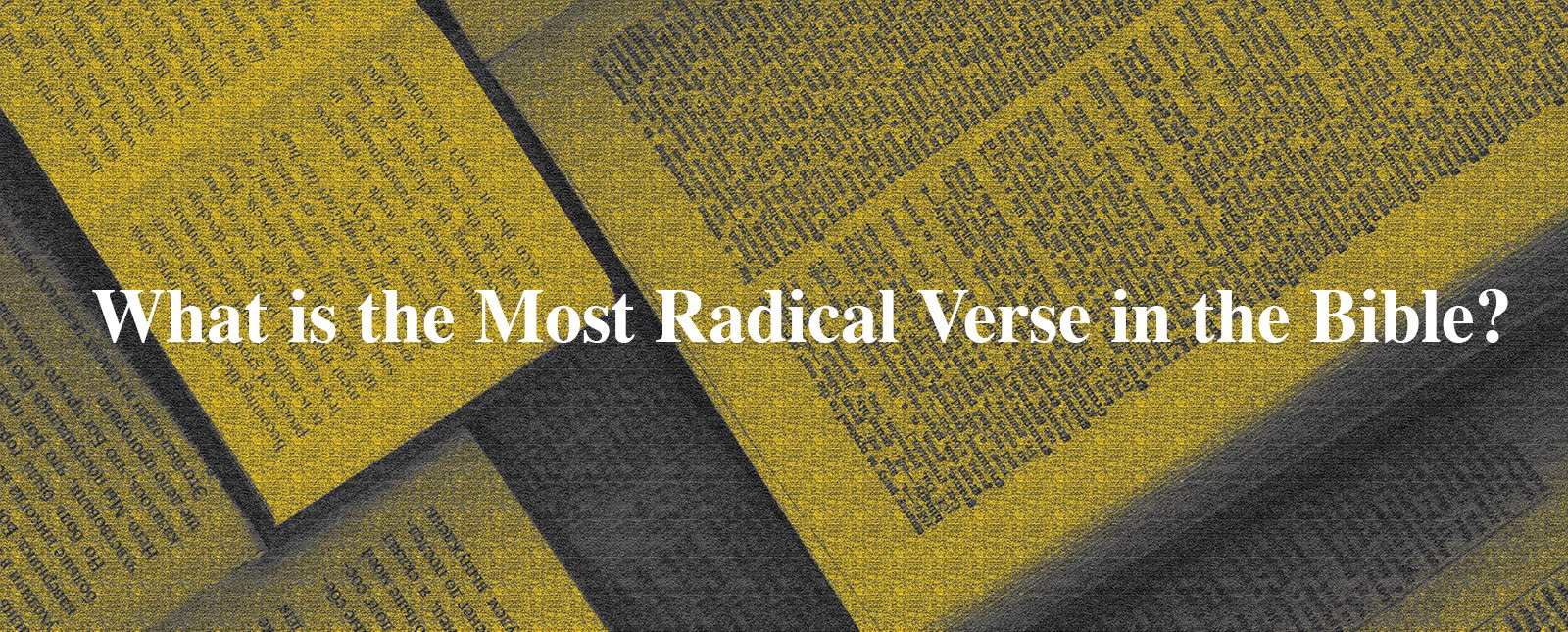 King Ministries International: What Is The Most Radical
